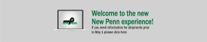 Welcome to the new New Penn experience.