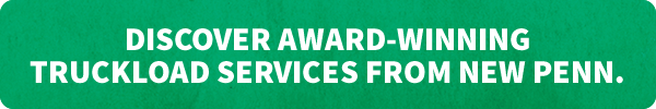 Discover Award-Winning Truckload Services from New Penn